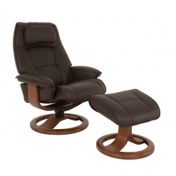 living room lounge chair admiral r base in mocha