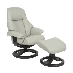 living room lounge chair alfa 510 shaodow grey