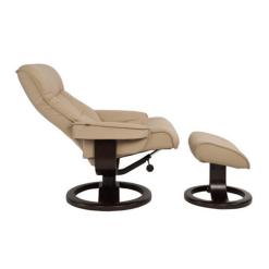 living room lounge chair bergen in sandel reclined