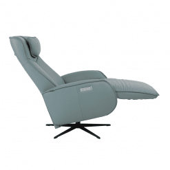 lounge chair axel in softline ice reclined