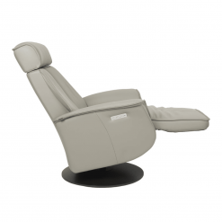 lounge chair bo in cement reclined
