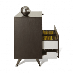 300 Series Lateral Cabinet in espresso side