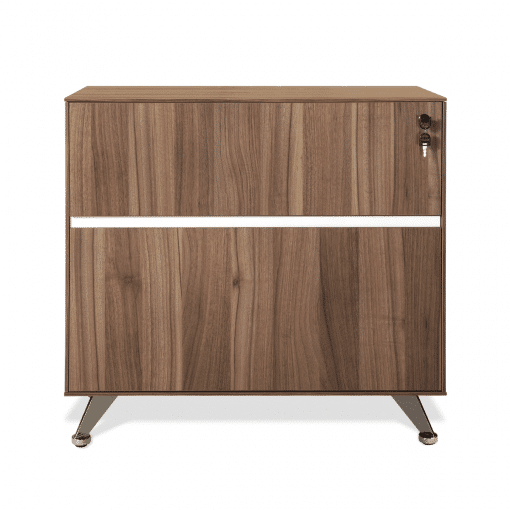 300 Series Lateral Cabinet in walnut