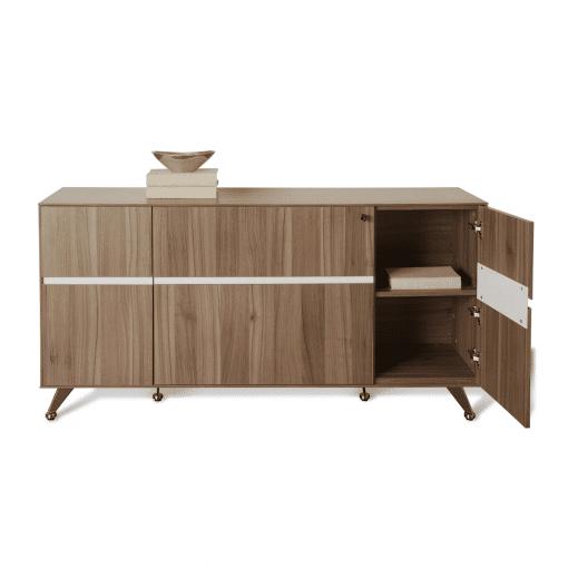 300 Series Storage Credenza open