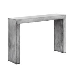 axle console table grey concrete