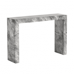 axle console table grey marble