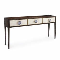 living room austere console table