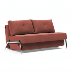 Cubed 02 Sofa bed in Alu Full Bed Size
