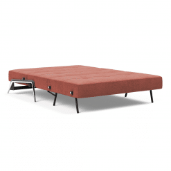 Cubed 02 Sofa bed in Alu Full Bed Size Open