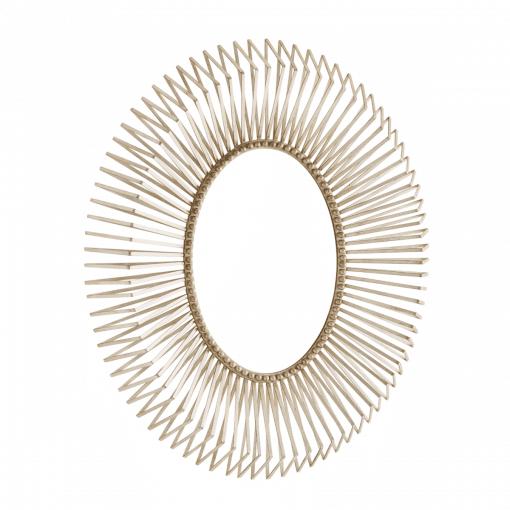 annular mirror silver
