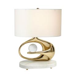 lighting interstellar table lamp brass