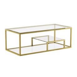 living room barolo coffee table gold