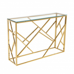 living room carole console table gold
