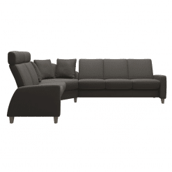 living room stressless a10 sectional side view