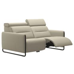 living room stressless emily steel 2seater recline