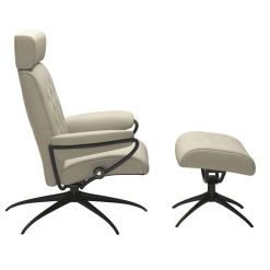 recliners stressless metro adjustable headrest side
