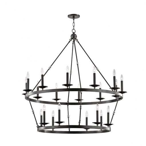 lighting allendal 20 light chandelier aged old bronze