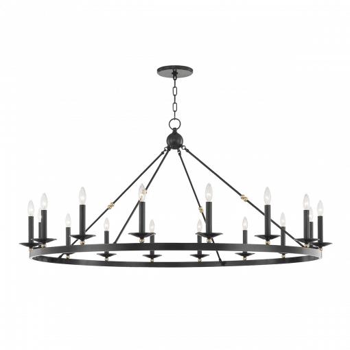 lighting allendale 16 light chandelier aged old bronze