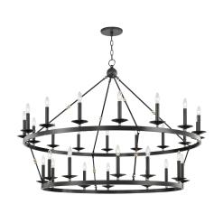 lighting allendale 28 light chandelier aged old bronze