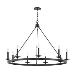 lighting allendale 9 light chandelier aged old bronze