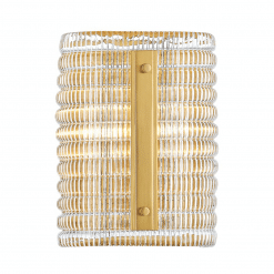 lighting athens wall sconce H9 aged brass