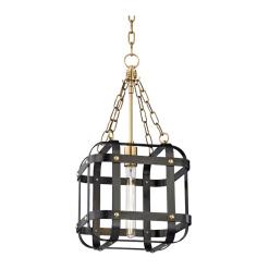 lighting colchester pendant 1 light aged old bronze