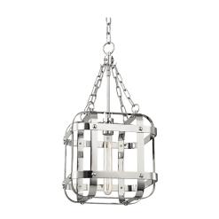 lighting colchester pendant 1 light polished nickel