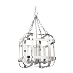 lighting colchester pendant 4 light polished nickel