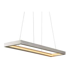 lighting jasmine rectangular silver