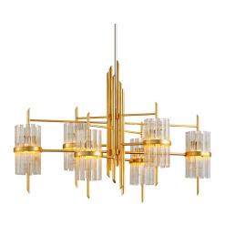 lighting symphony linear chandelier