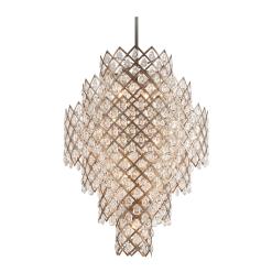 lighting tiara 17 light pendant
