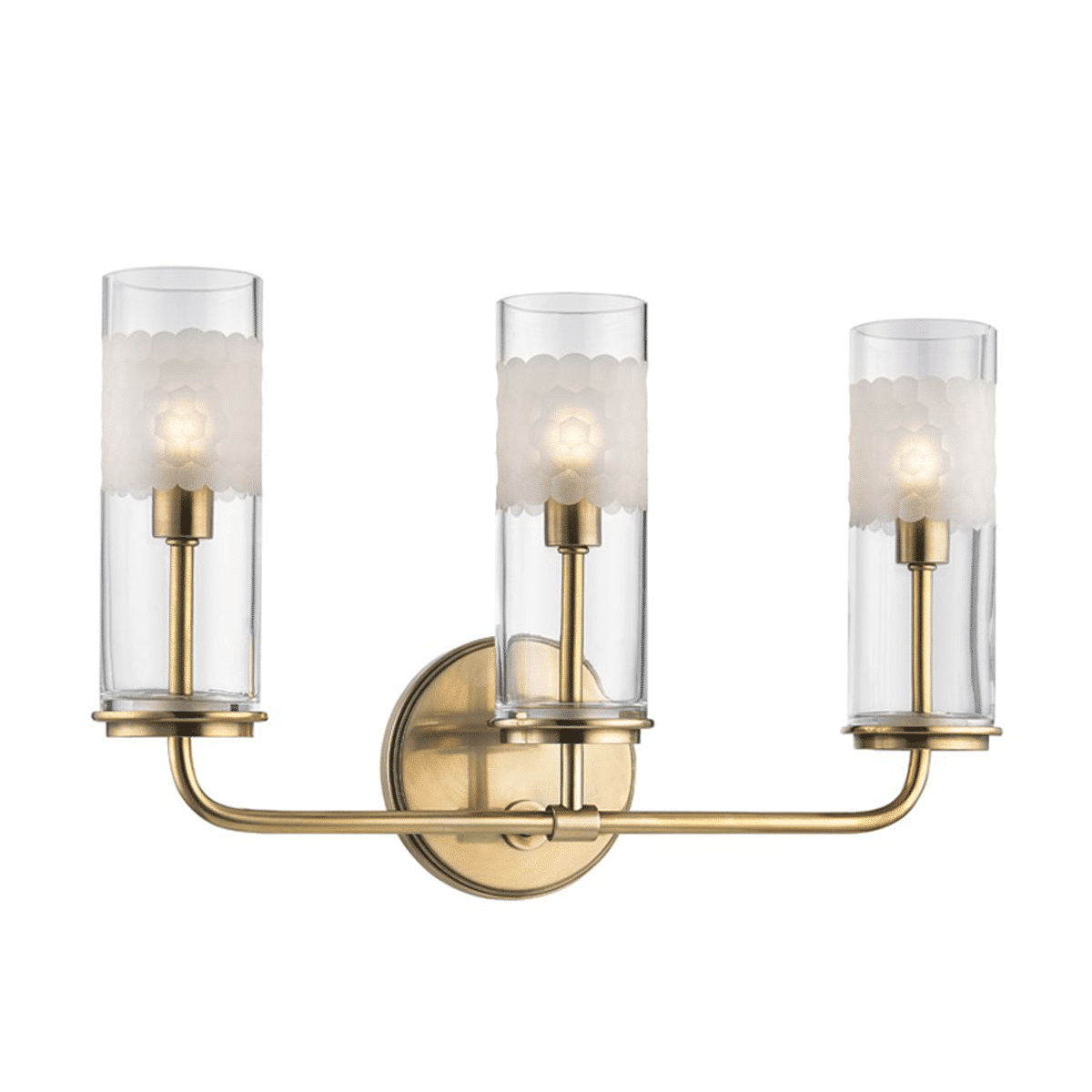 Wentworth 3 Light Wall Sconce Modern Sense Furniture