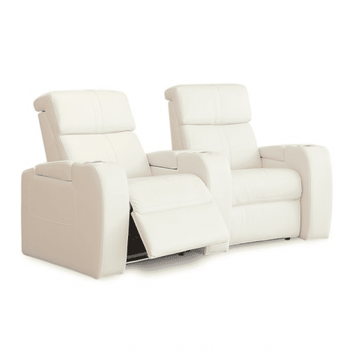 Home theatre flicks 2 seater reclined