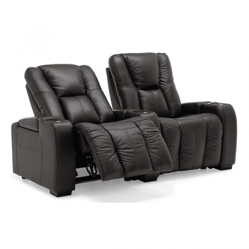 Home theatre media 2 seater reclined