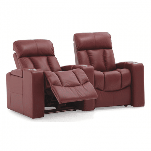 Home theatre paragon 2 seater recline
