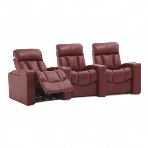 Home theatre paragon 3 seater recline
