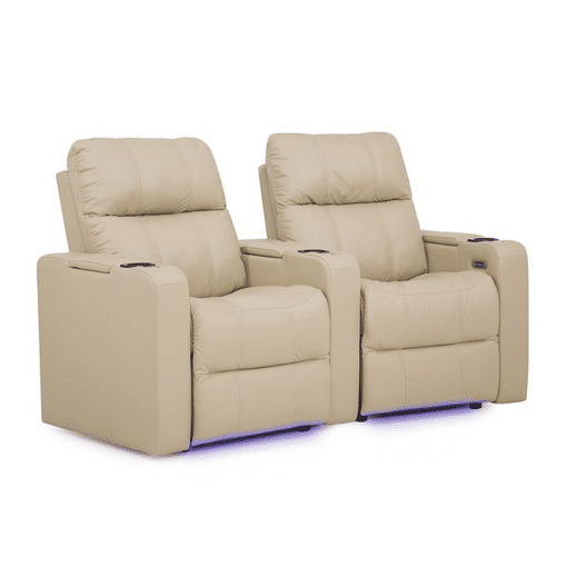Home theatre soundtrack seating