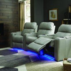 Soundtrack lifestyle configuration option with LED