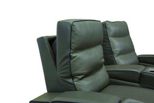 becket headrest details