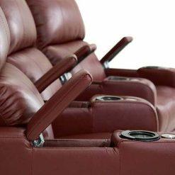 elite home theatre arm rest details