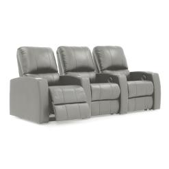 home theatre pacifico 3 seater recline