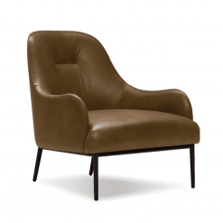 living room anister lounge brown leather