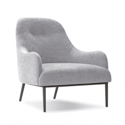 living room anister lounge chair grey