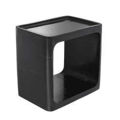 living room canalave side table black