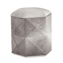 Ashanti storage ottoman grey