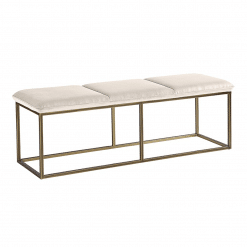 alley bench piccolo prosecco burnished brass