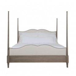 bedroom auberge poster bed front