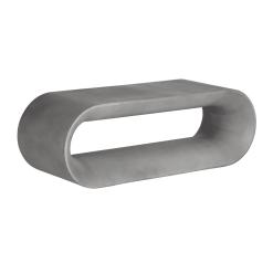 capsule bench grey concrete