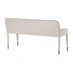 cortland banquette bench back