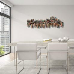 Assembly Wall Art in Dining Area scaled